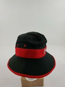 NEW, NEW ERA, BUCKET HAT, #4, KEVIN HARVICK SIZE OSFM JIMMY JOHNSON BLACK RED