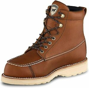 Irish Setter 838 WINGSHOOTER Soft Toe Waterproof Brown Leather Boots Mens 12 EE