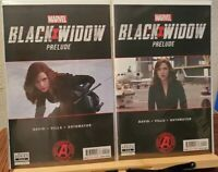 BLACK WIDOW PRELUDE #1, 2 (MARVEL) DAVID