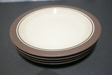 """LOT of Four HORNSEA England CORAL 10"""" Dinner Plates EXCELLENT+"""
