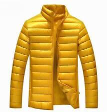 Shiny soft nylon wetlook down jacket coat clothes outdoor habiliment sport M-3XL