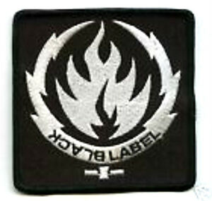 Noir Label Society Patch BLS Thermocollant Patch