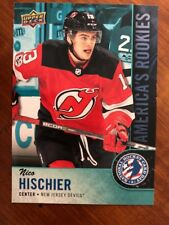 2018 UD National Hockey Card Day America's Rookie #USA-1 Nico Hischier