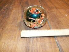 "Vintage ALLEN'S ART GLASS 3"" Paperweight 3"""