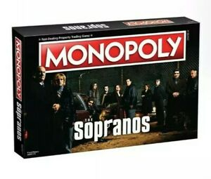 Hasbro Monopoly The Sopranos * New and Sealed in Box