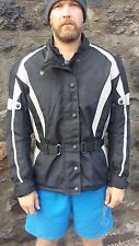 JTS Textile Motorbike/Motorcycle Jacket Waterproof with Armour 2XL/20 Unisex