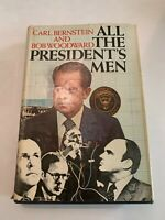 1974 All The President's Men by Bernstein and Woodward Hardcover with DJ