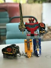 Mighty Morphin Power Rangers Deluxe Megazord Bandai 1993 USED Complete!
