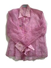 Thomas Pink Shirt Size UK 12