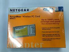 NETGEAR RangeMax 108 Mbps Wireless PC Card WPN511 - New