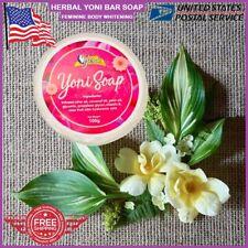 100g Yoni Bar Clean Body Vaginal Whitening Soap Feminine Wash Hygiene Itching