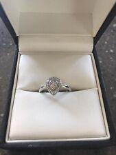 Ernest jones 9ct White Gold Engagement Ring