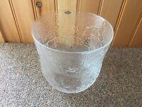 """Nuutajarvi Art Glass Oiva Toikka Design Fauna Bowl 7 1/4"""" Vase Pot"""