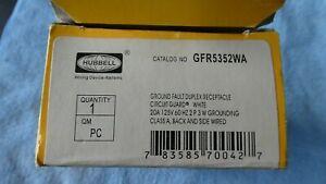 HUBBELL GFR5352WA / GFR5352WA (NEW IN BOX)