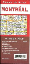 Street Map of Montreal, Quebec, Canada, by GMJ Maps