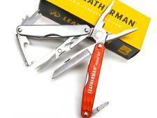 LEATHERMAN Cinnabar Orange JUICE S2 Multi-Tool Plier Knife Screwdriver! 831925