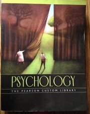 Psychology The Pearson Custom Library Book