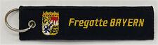 "Marine llaveros con anillo fragata ""Baviera"" f217... r1131"