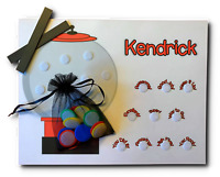 Kids Gumball Behavior Chart, Printed with Child's Name, Reward Positive Behavior