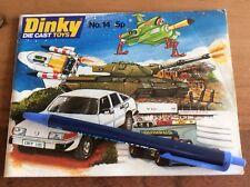 DINKY modellauto katalog die cast toys catalogue nr 14 1978