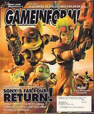 Gameinformer April 2004 Crash Bandicoot, Halo 2, MechAssult 2 w/Ml Vg 081016Dbe