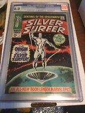 Silver Surfer 1 CGC 6.0 Marvel