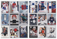 NHL Game Used Jersey Numbered Subban Heatley Carter Dubinsky  - U Pick From List