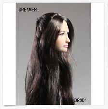 Dreamer DR001 1/6 Scale Female Head Sculpt For Hot Toys Phicen Female Body