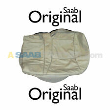NEW SAAB 9-5 SEAT COVER LEATHER CUSHION COVER LEFT REAR TAUPE L25 OEM 12762190