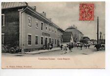 SUISSE SWITZERLAND canton NEUFCHATEL VERRIERES LES VERRIERES Croix blanche hotel