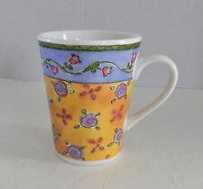 Sango Sweet Shoppe Coffee Cup Mug Cinnamon Swirl Sue Zipkin Floral 3024 Pastels