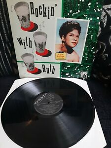 """Ruth Brown – Rockin' With Ruth Vinyl 12"""" LP Album Charly CRB 1069 1984"""