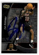 Tim Hardaway Signed 1998/99 Ionix Card #33