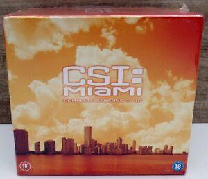 CSI Miami Complete Series Dvd Box Set Season 1 2 3 4 5 6 7 8 9 10 NEW PAL REG 2