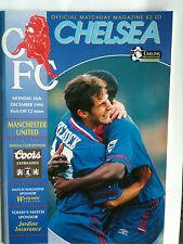 MINT 1994/95 Chelsea v Manchester United Premier League