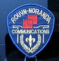 Patch Retired: Rouyn-Noranda (Quebec, Canada) Communications Patch (Very Rare)