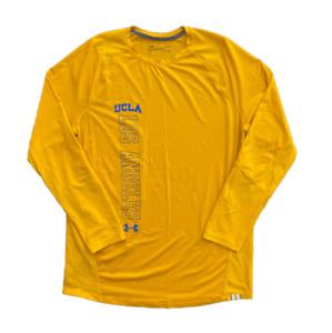 Under Armour Men's HeatGear Fitted UCLA Bruins Long Sleeve Shirt | Large