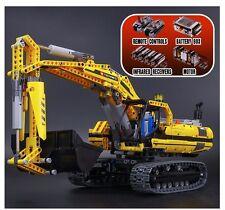 Escavatore motorizzato - 100% Compatibile Lego Technic- 8043- Nuovo