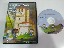 La Aventura de Bibel Pferdeglück Mit Jesus Video-Spiel PC Lernspiel Dvd-Rom Am