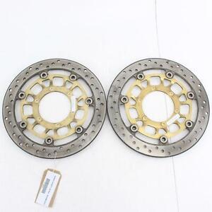 2007-2013 HONDA CB 600 F Front Brake Discs - 45220-MFG-D01 & 45120-MFG-D01