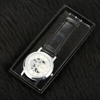 Frauen Männer Uhrenbox Schmuck Geschenk Armbanduhr Aufbewahrungskoffer Organizer