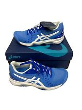 New listing Asics Gel Challenger 12 Womens Tennis Shoes Size 6 Blue White Athletic New