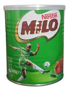 Ghana Nestle Milo Chocolate Malt Energy Drink 400 g Tin, Made in Ghana