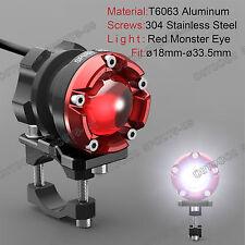 Super Bright CREE LED Fog Light Spot Lamp Turn Signals For Harley Monster Eye