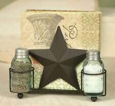 Barn Star new Napkin Holder with Salt & Pepper shakers