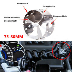 75-80MM Fourth Generation Car Turbofan Diversion Fuel Gas Saver Oil Accelerator