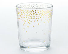 24 Gold Foil Dot Tea Light Candles Holders Wedding Favors Decorations Lot Q37120