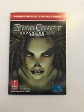 Starcraft Expansion Set: Brood War (Prima's Official Strategy Guide) Farkas, Ba