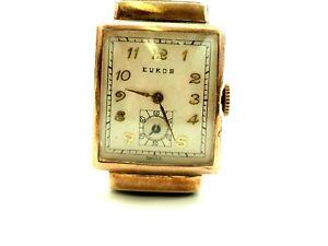 Vintage Evkob Manual Wristwatch circa 1930
