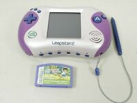 Pink & Purple LeapFrog Leapster2 Learning Game System with 1 Game